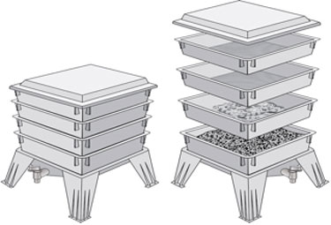 """An example of a """"tiered"""" bin"""