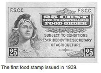 First food stamp
