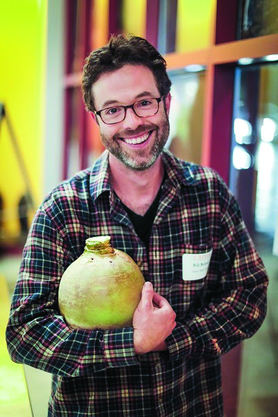 Bill with his beloved Macomber turnip