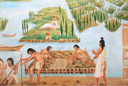 Chinampas - the floating gardens of Mexico