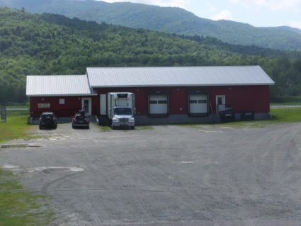 Deep Root office, warehouse, coolers and loading docks in Johnson