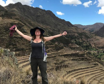 Ellen Kittredge in Peru