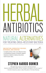 Herbal Antibiotics cover