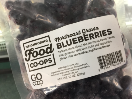 Northeast Grown Frozen Fruits