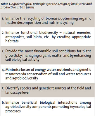 Agroecological Principles
