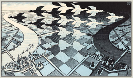 MC Escher Day and Night