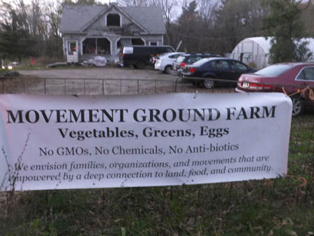 Movement Ground Farm sign