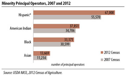 minority principal operators 2007 and 2012